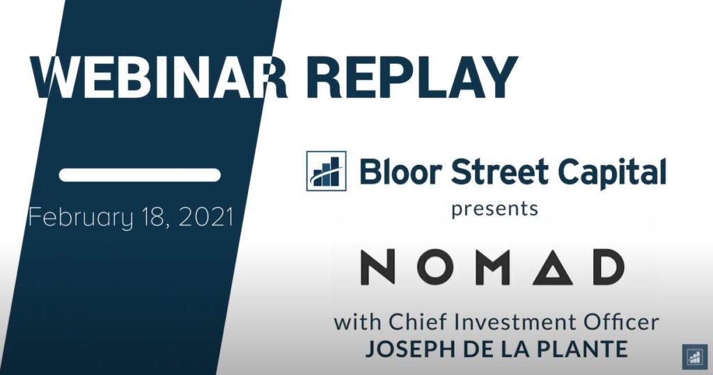 BLOOR STREET X NOMAD – FEBRUARY 2021